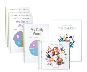 The Garden CD and DVD / My Daily Word Devotional Set