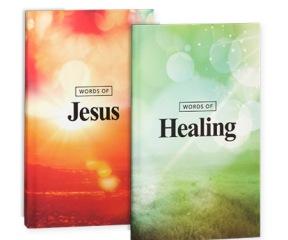Words of Jesus / Words of Healing paperback