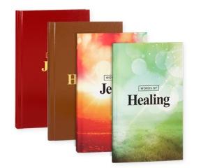 Words of Jesus / Words of Healing paperback & hardcover